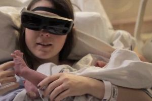 When See Puts These Glasses On This Blind Woman Sees Her Son for the Very First Time