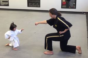 3-Year-Old White Belt Is The Cutest Nugget To Practice Karate