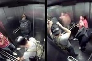 Diarrhea in The Elevator Prank.  I CAN`T BREATH!!!! Freaking crying and drooling