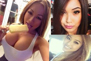 Let's these gorgeous Asian girls warm up your day!