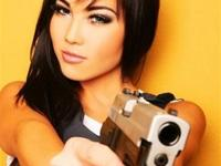 Why do men prefer guns over women?
