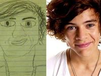 Creepy One Direction`s Drawings Will Haunt Your Nightmares (21 photos)