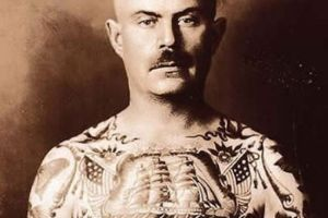 A Revealing Look at Tattoos from a Different Era (21 pics)