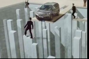 Awesome optical illusion commercial by Honda.