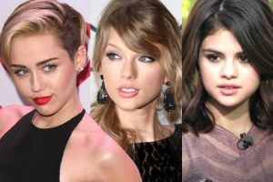 Who made a better transformation? Miley Cyrus, Selena Gomez and Taylor Swift THEN and  NOW (34 pics)