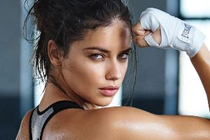 Adriana Lima Working Out Is Smoking Hot!