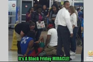 Embarrassing WALMART Black Friday Moments. #america #facepalm