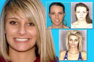 The shoking and digusting `Before and After` photos of people who using Meth. Miss Teen Oregon just looks nasty now