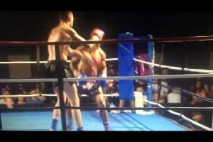 Watch how Muay Thai fighter gets Knocked out with crushing Roundhouse Kick