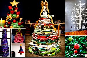 20 Creative And Inspiring Ideas For a DIY Non-Traditional Christmas Tree