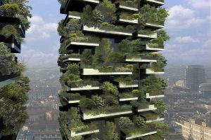 Feast Your Eyes With The Most Innovative Highrise in the World With 800 Trees and 14 Thousand Plants. WOW!