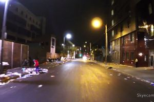 Filmmakers fly a drone around Skid Row in LA, nearly get murdered by drug dealers who think their operation was being filmed