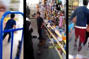 Kid Gives No F**ks And Completely Destroys The Dollar Store