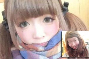 After 3 months in love Japanese boyfriend saw his girlfriend`s look without makeup for the first time, her real look completely shocks him. OMG