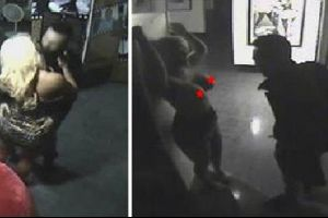 Las Vegas Erotic Museum -- Couple Busted Banging All Over `50 Shades of Grey` Themed Event