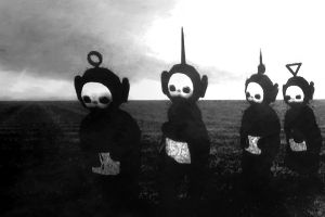 This Is What's Breaking the Internet for This Week: Teletubbies Gone Black and White