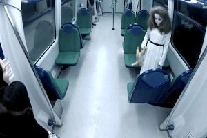 Terrifying Ghost Subway Prank Will Make You Take A Cab Instead