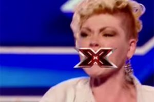 X Factor Contestant Goes Crazy When She Is Rejected