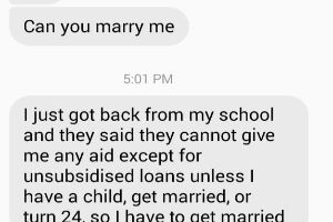 These Two Dudes Just Decided to Get Married for the College Money