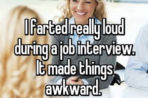 People confess their most embarrassing interview moments (17 Photos)