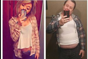 Dad Recreates Sexy Selfies Of His Daughter And The Results Are Priceless (8 pics)