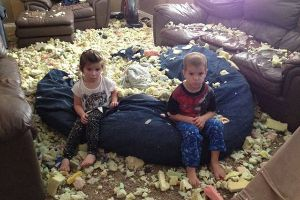 Reasons Why You Should Never Leave Your Kids Alone…(35 pics)