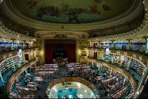 This Breathtaking Bookstore From 100-Year-Old Theatre Will Make You Feel Like `Lost in Wonderland`(9 pics)