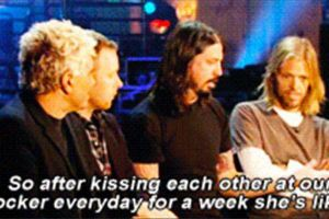 Dave Grohl`s Confession - Another Proof That He's Just F#cking Cool (8 pics)