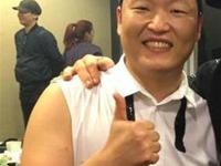 When the two legends collide: PSY and Jackie Chan