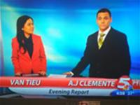First time TV anchor fail! His career is over before it even started.