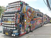 Bright Buses in Thailand