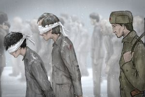 Drawings Of North Korean Concentration Camp By An Escaped Prisoner (6 pics)