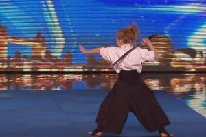 9-Year-Old Girl Performs Epic Karate Dance on Britain's Got Talent