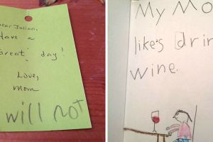 24 Hilariously Harsh And Awkward Notes Kids Have Given Their Moms