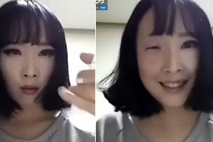 The power of a good eyeliner! South Korean woman removing her make up goes viral thanks to her VERY eye-opening transformation
