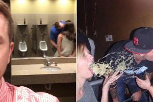 15 Couples Who Hooked Up In The Least Sexy Places Imaginable.
