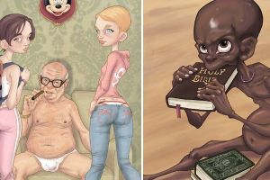 Disturbing – Yet Accurate – Illustrations That Portray The Absurdities Of Modern Society