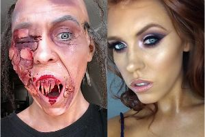 This Makeup Artist Creates Some Truly Terrifying Looks In Her Spare Time