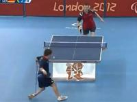 What an amazing Ping Pong shot at Paralympic games!