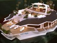 Moveable Floating Island is an exciting new Home for the Rich!