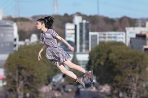The Self Portraits of the Amazing Levitating Girl! (10 pics)