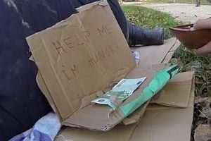 Social Experiment: Would You steal from a hungry homeless?