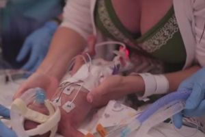 A father's touching film celebrating the life of his son who was born 3.5 months early