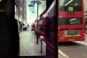 Clever bus stop ad makes people believe meteors are striking the street