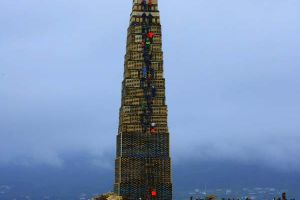 If You Think Stacking a Thousand Pallets Is Insane, Wait Till You See What They Did Next