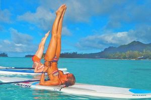 The Perfect Exercise for Summer! Surfboard Yoga (41 pics)