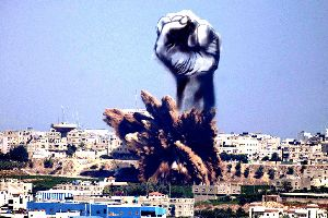 Gaza artist turns air-strike smoke into stunning sketches. The spirit of hope will move you to the core.