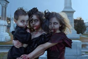 Nothing is Scarier than Children Dressed as the Undead