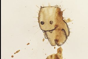 Artist Creates Monsters From Random Coffee Stains