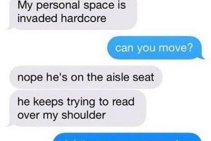 This Girl Trolled The Hell Out Of A Guy Reading Texts Over Her Shoulder